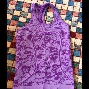Lululemon tank gorgeous purple excellent condition